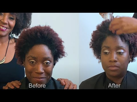 Aveda's Rinseless Refresh: Twist Out Refresh On Type 4C Hair (FULL VIDEO)