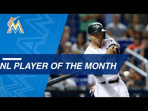 August NL Player of the Month: Giancarlo Stanton
