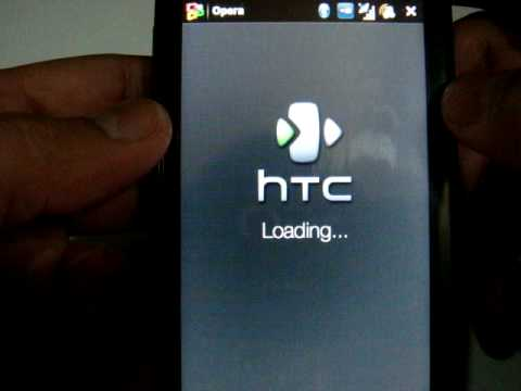 HTC Touch HD - Web Browsing