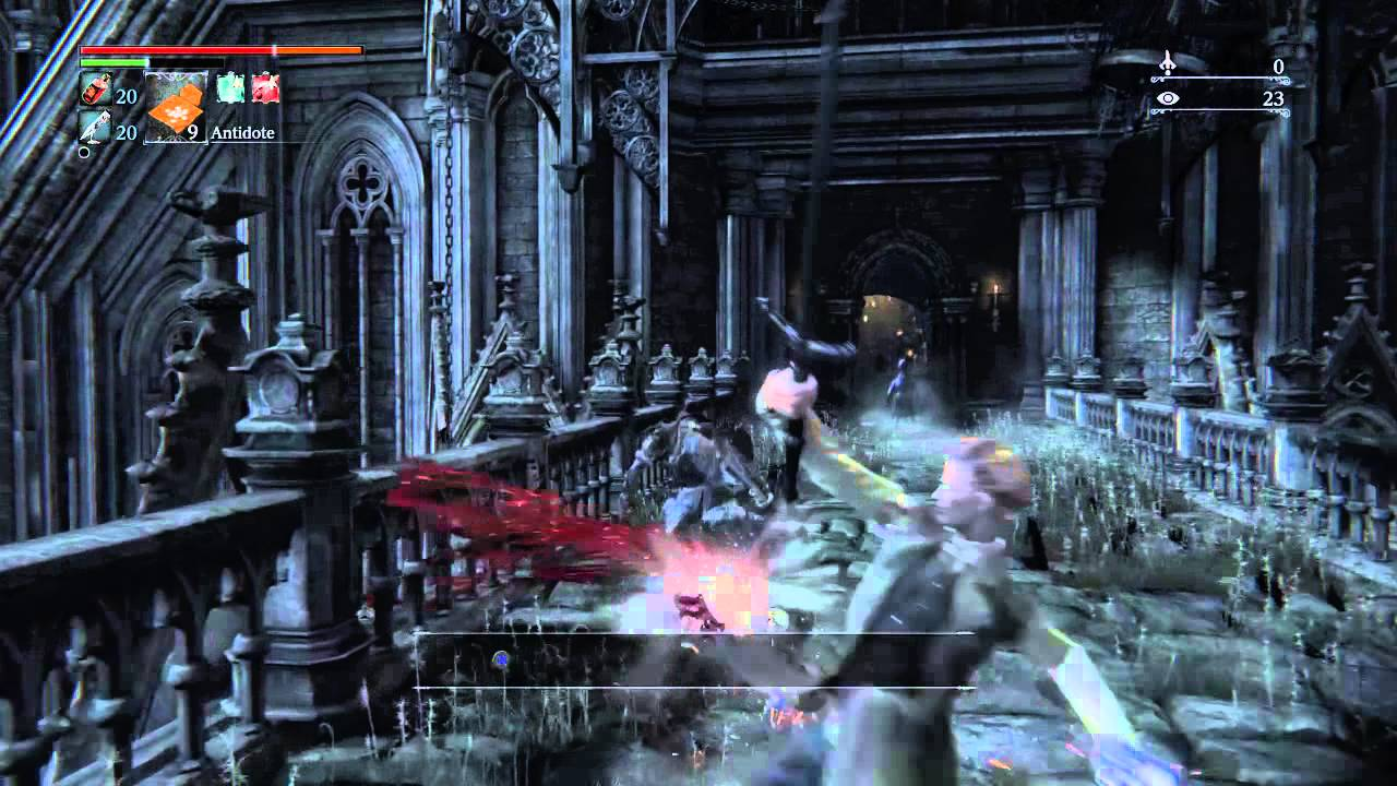 Bloodborne Nightmare of Mensis run to first elevator shortcut and ...