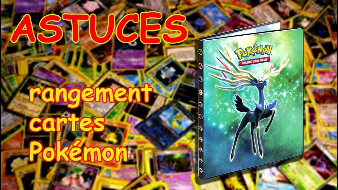 Astuce Pour Ranger Ses Cartes Pokemon Dans Un Livre
