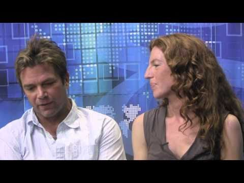 The Gregory Mantell Show -- David Chokachi / Tanna Frederick