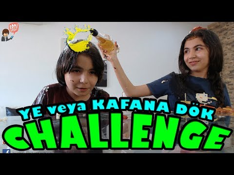 YE YA DA KAFANA DÖK CHALLENGE Vlog - Ruslar.Biz