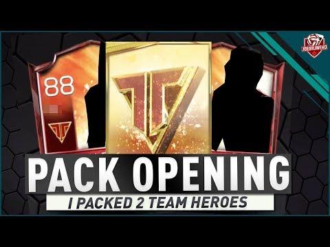 FIFA MOBILE 18 S2 I PACKED 2 TEAM HEROES #FIFAMOBILE TEAM HERO PACK OPENING DYBALA FALCAO KOKE