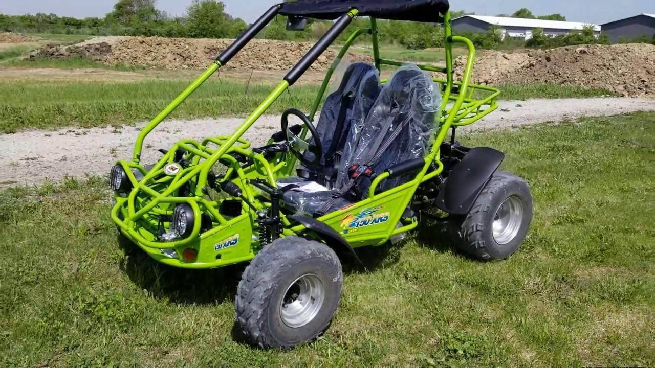 150cc Go Kart Trailmaster XRS Super Dirt Hugger Go Kart - Full Automatic &  Elec Start - Demo Model