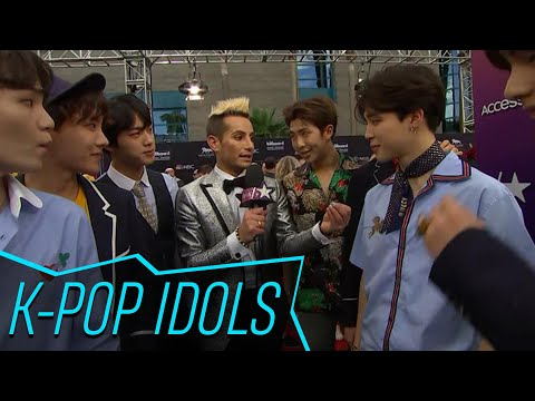 BTS Tells Frankie Grande How Much They Train, Who They're Excited To Meet At Billboard Music Awards!