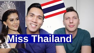REACTING TO MISS UNIVERSE THAILAND 2010-2016