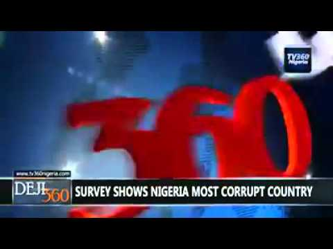 Nigeria Ranked #1 Most Corrupt In Best Countries Ranking