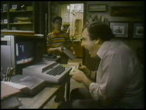 1981 Atari Computer Ad: Stock Analysis / Space Invaders