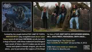 """ARKHAM WITCH """"The Cloven Sea"""" (taken from the album """"Legions Of The Deep"""")"""