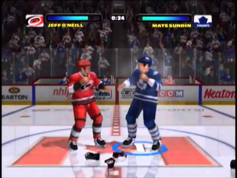 Carolina Hurricanes @ Toronto Maple Leafs - NHL Hitz 2003 (Xbox) gameplay