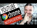How To Turn Off YouTube Notification Pop Ups on Chrome - Disable Notifications