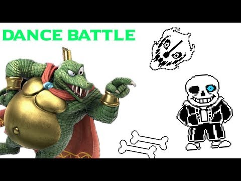 K. ROOL VS SANS DANCE BATTLE