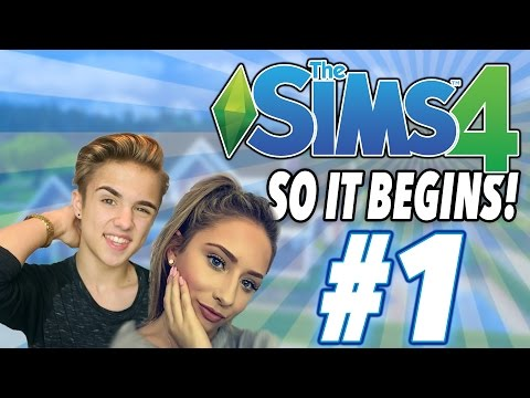 ITS FINALLY HERE! | Sims 4 With Saffron #1