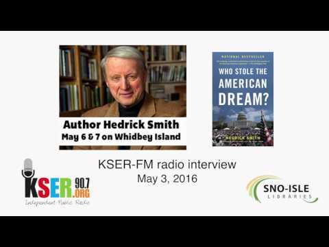 Hedrick Smith Radio Interview on KSER