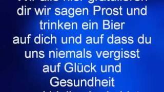 Norbert und die Feiglinge - Zum Geburtstag (Lyrics)