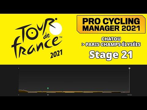 Tour de France 2021 Stage 21 - Deceuninck Quick-Step - Pro Cycling Manager 2021 |