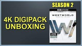 Westworld: Season 2 4K+2D Blu-ray Digipack Unboxing