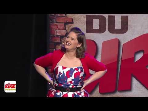 Elodie Poux aux Open du rire de Rire et Chansons mars 2017