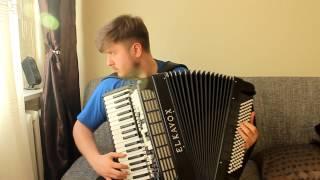 Biesiadne - Czerwone jagody - akordeon