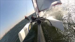 Nacra F18 Infusion Team Boskalis (catamaran sailing)