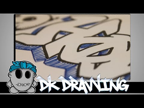Graffiti Tutorial for beginners -  5 ways of 3D Effects #2