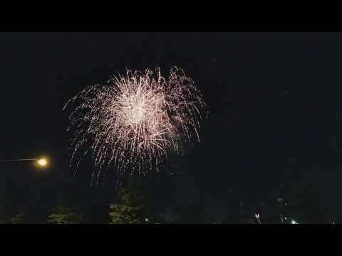 2017-07-08 Fairview Ohio Full Fireworks
