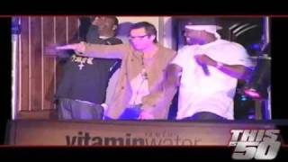 "50 Cent and Jim Carey Performing ""In Da Club"" @Sundance 2009 