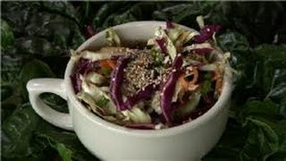 Cabbage Recipes : Crunchy Japanese Cabbage Salad