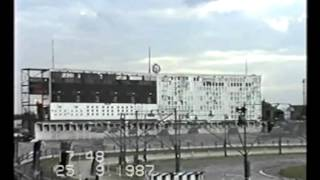 Harringay Greyhound Stadium Track Last Night 25th September 1987