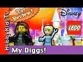 Trixie Crib Lego Cinderella's Castle 41055  by HobbyKidsTV