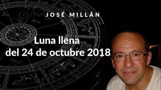 Luna llena del 24 de octubre 2018