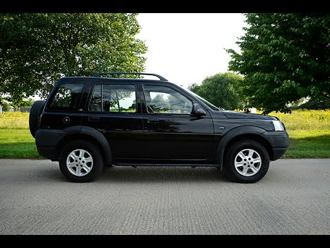 2003 LAND ROVER FREELANDER VIDEO REVIEW