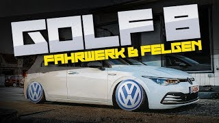 HOW DEEP? // VW GOLF 8 - FAHRWERK & FELGEN / ROTIFORM / AIRLIFT
