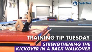 Strengthening the Kickover in a Back Walkover