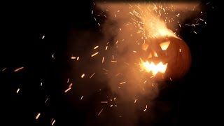 Panasonic GH3 slow motion exploding pumpkin