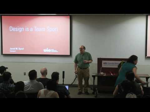 A night with Jared Spool: Design is a Team Sport