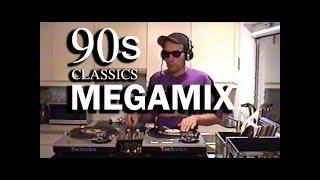 90s Music Megamix by DJ LUTER ONE (100% Vinyl)