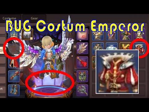 CARA BUG Costum Emperor`s - Dragon Nest Mobile ( Emperor Costum Change BUG )