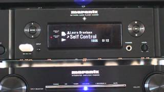 Marantz NA6005 - A short demo.