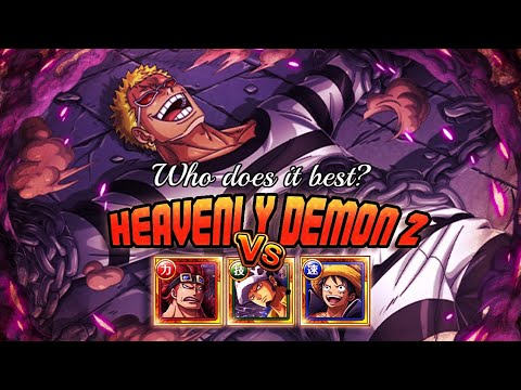 Download [OPTC] WHO DOES IT BETTER?!? ONI TRIO vs DOFFY 2! Luffy, Law, & Kid Take On Garp Challenge: Doffy 2!