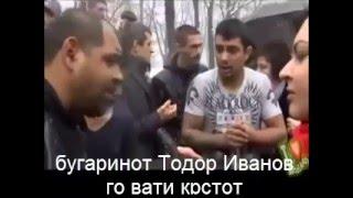 бугаринот Тодор Иванов го вати крстот во Ботевград