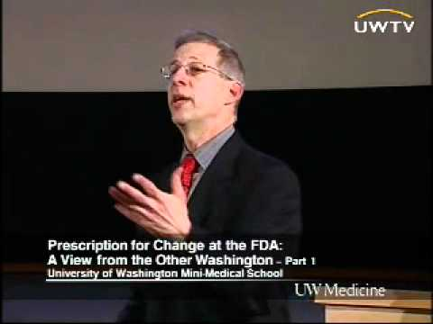 Prescription for Change at the FDA: A View from the Other Washington, Part 1