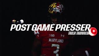 Penn State Postgame Press Conference: Quarterback Taulia Tagovailoa