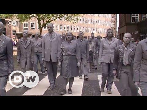 G20 zirvesine zombili protesto - DW Türkçe