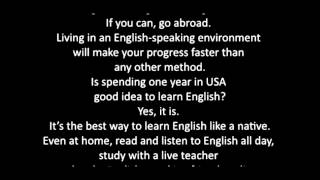 Effortless English Mini Story - Learn English Fast