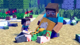 The minecraft life of Steve and Alex | Hardened by Life | Minecraft animation