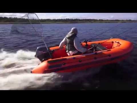 Надувные моторные лодки НПО НАШИ ЛОДКИ, Питер, видеообзор производителя2015