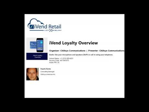 iVend Loyalty Overview - Spanish