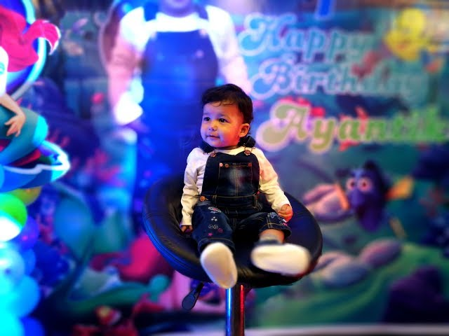 ayantika 1st haapy birthday party